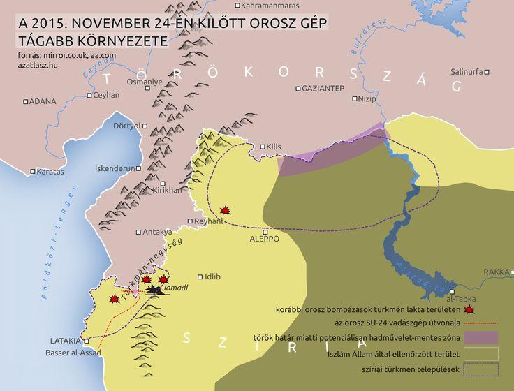 térkép törökország orosz vadászgép lelövése türkmének