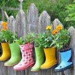 Guerilla gardening: Gardens Ideas, Photos Galleries, Dinners Ideas Healthy, Rain Boots, Art Teacher, Houses Doors, Gardens Art, Elementary Art, Caramel Recipes