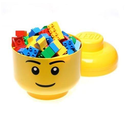 Caja cabeza Lego - Rian de Rian