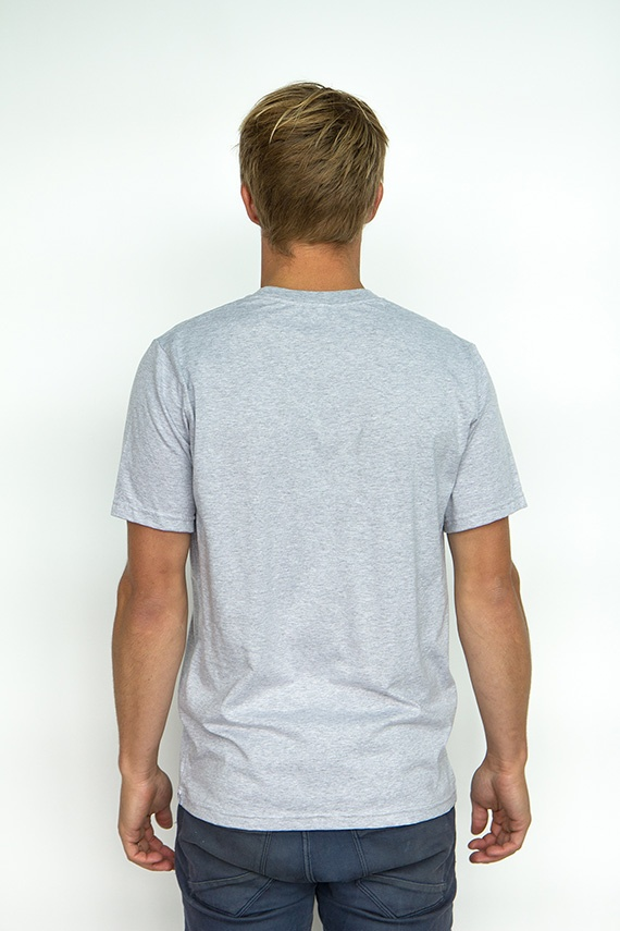 Grey marle basic tee