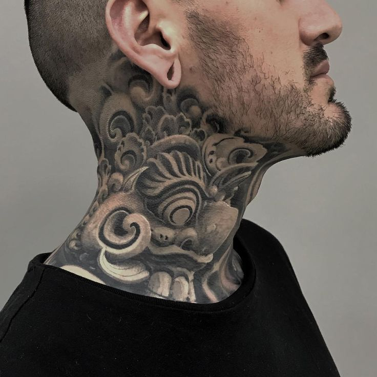 Awesome Neck Sleeve Gefallt 7 976 Mal 60 Kommentare Victor Portugal Auf Instagram 1 Yea Neck Tattoo For Guys Best Neck Tattoos Back Of Neck Tattoo