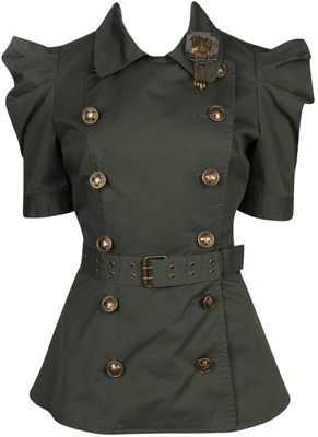 Double Breasted Squadron Jacket, i feel that this would look great with a boots!