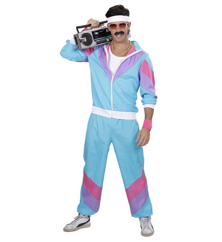 Disfraz años 80s chandal  Incluye: Chaqueta y pantalones http://www.disfracessimon.com/disfraces-adultos/2516-disfraz-anos-80s-chandal-p-2516.html