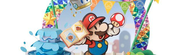 You love Mario and stickers? You'll also love Paper Mario : Sticker Star, a 3DS title that ships this holiday season.