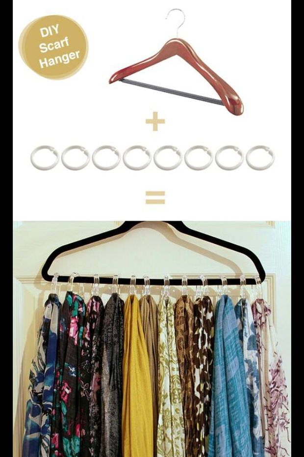 DIY Closet Organization | Decorating Your Small Space