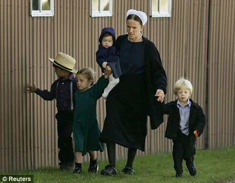 Amish children are nearly immune to asthma and allergies                 interesting, I will have to read about this