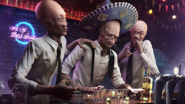 Drunk Aliens - Making of on Vimeo