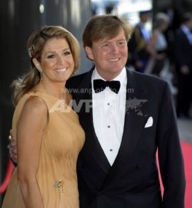 TRH the Prince of Orange and Princess Maxima