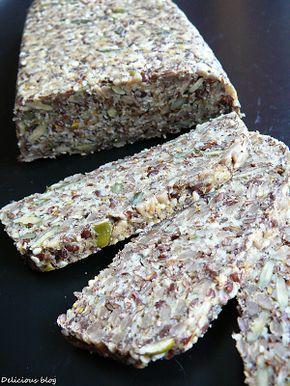 Delicious blog: Semínkový chléb
