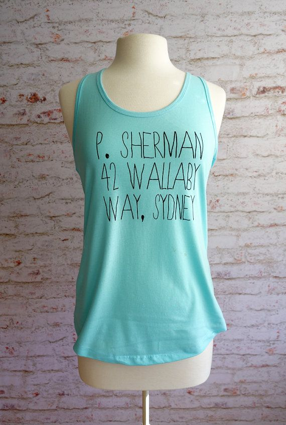 P. Sherman Finding Nemo tank top finding nemo by rachelwalter