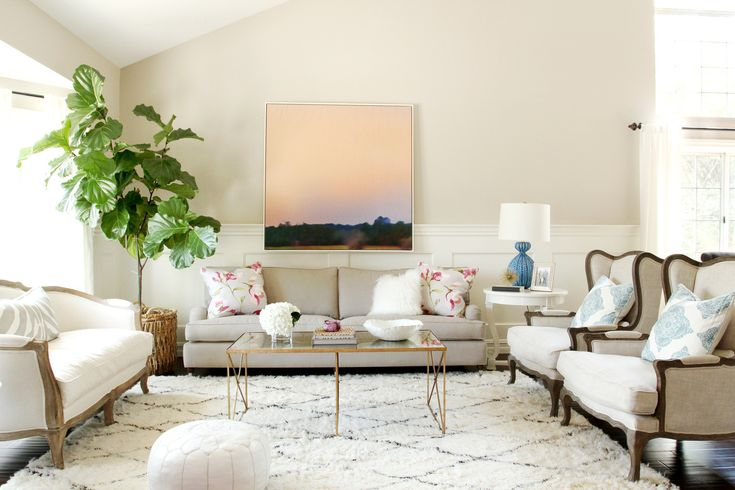 Get+Inspired+by+This+Gorgeously+Approachable+Living+Room+Design+via+@MyDomaine