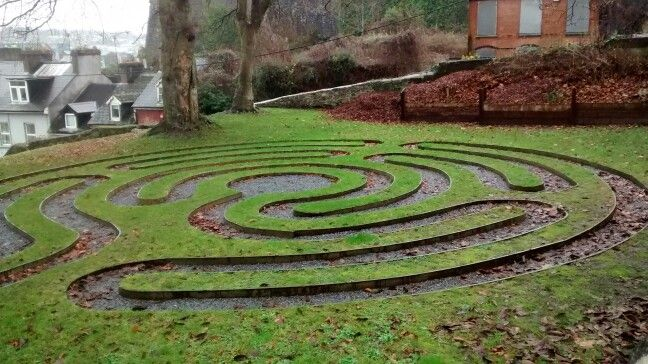 Labirinto da Catedral de Cork/ IE 12/2016