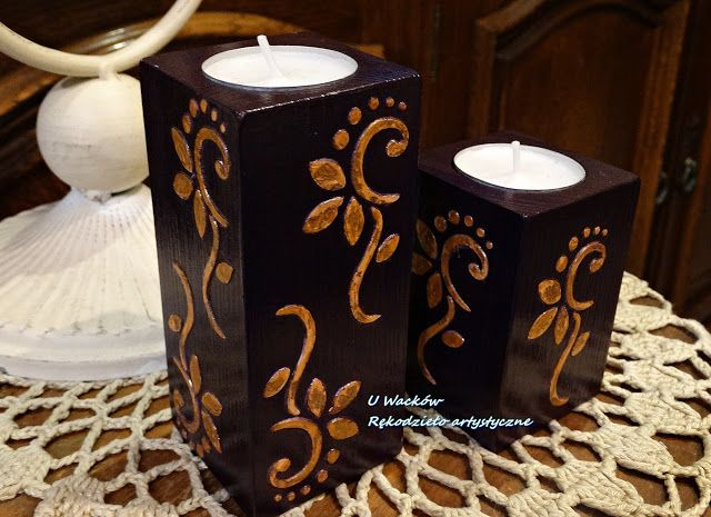 Świeczniki fioletowe