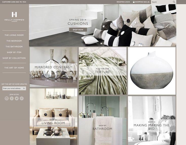 Kelly Hoppen Launches E Commerce Site Interior Design