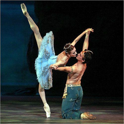 """Irina Dvorovenko and Angel Corella in """"Le Corsaire"""""""