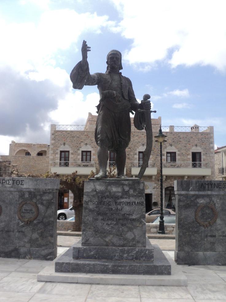 Statue of Petrobeis Mavromichalis-Areopoli