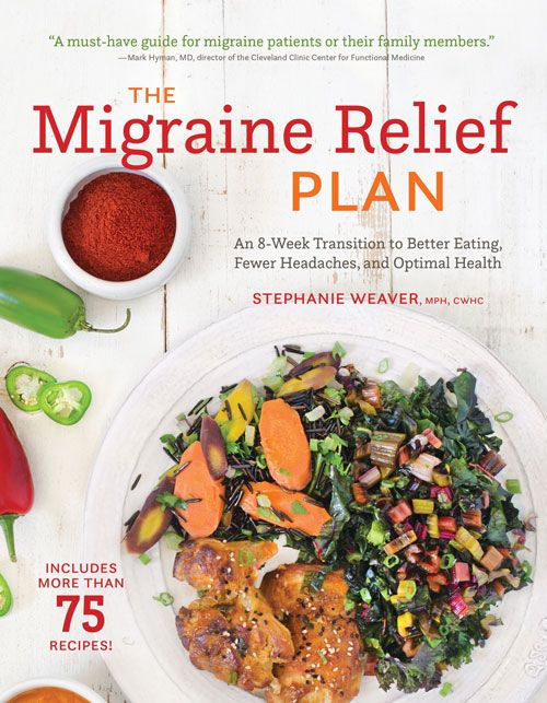 Nutrition Tips for Migraine Relief - A Review of Stephanie Weaver's Latest Book! by RDN Elizabeth Shaw @shawsimpleswaps