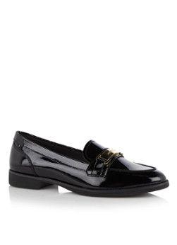 Michael Kors Ansley loafer in zwart lakleer