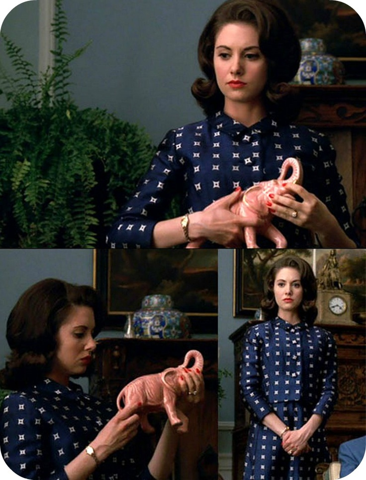Mad Men--Trudy Campbell. Never seen the show, but according to @Julia Hansen she's my doppleganger.