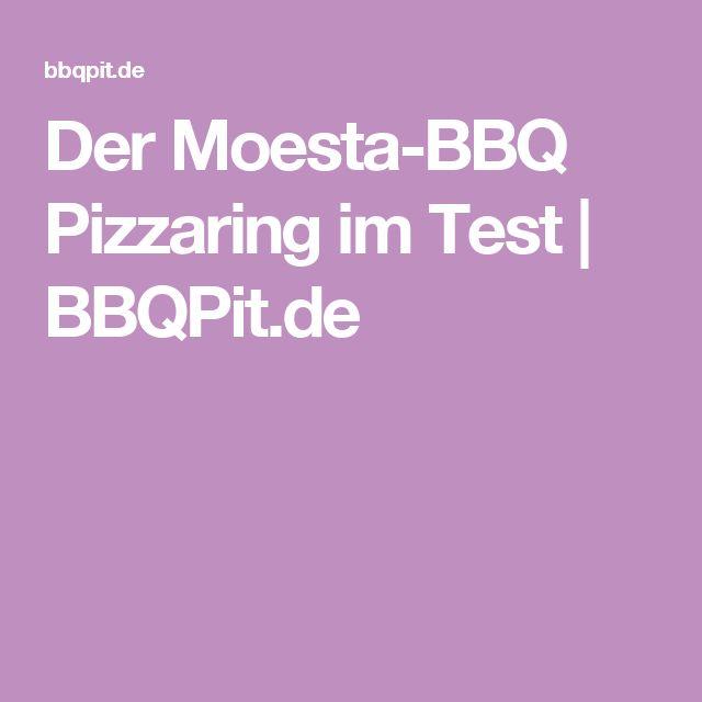 Der Moesta BBQ Pizzaring Verspricht Die Perfekte Pizza Vom Grill. Der  BBQPit Test Zeigt Wie Gut Die Pizza Wirklich Wird!