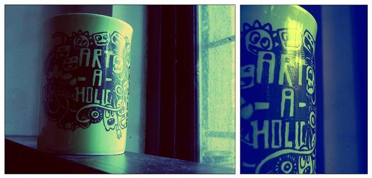 coffee mug doodle