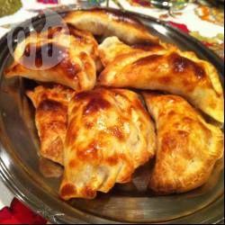 Empanadas de Tomate, Queso y Albahaca
