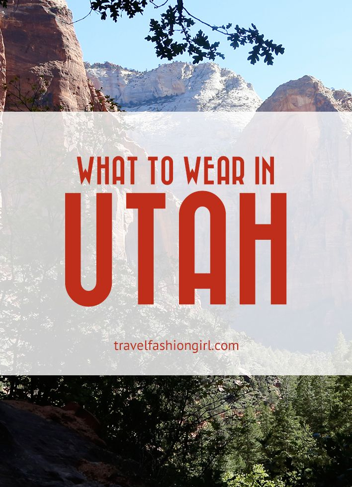 Traveling to Utah this summer? Find out what to wear in Utah when visiting their incredible national parks including Zion, Arches, Bryce, and Canyonlands! | TravelFashionGirl.com