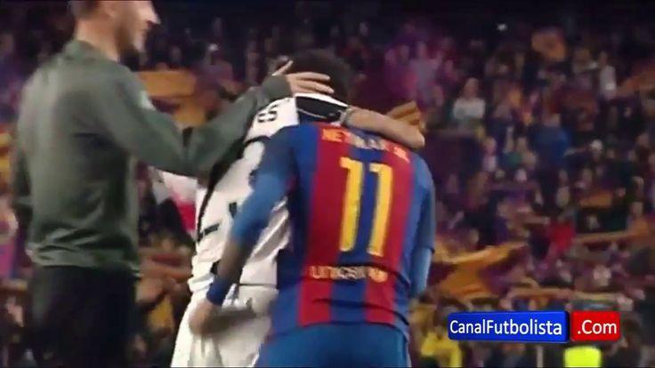 Dani Alves SUPPORT Neymar when he CRYING    FC Barcelona vs Juventus 0-0...