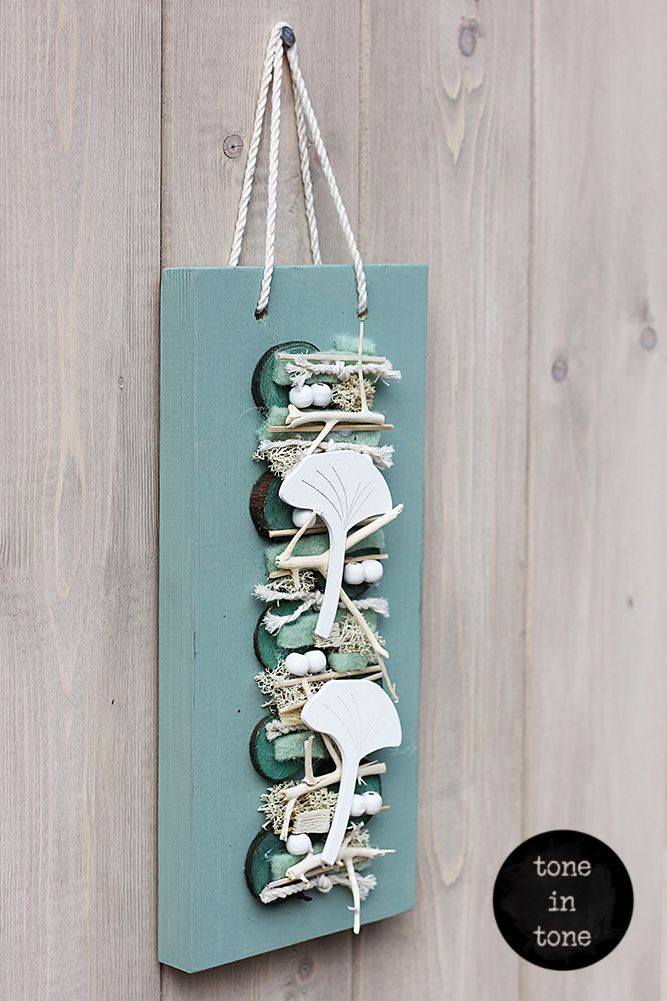 H.O.M.E. #Dress #Up #Your #Door or #Wall with this #DIY #turquoise #handmade #interior #decoration | by toneintone