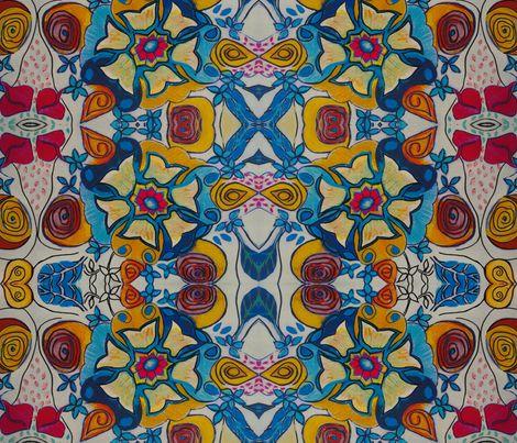 My Garden fabric by natyceccato on Spoonflower - custom fabric