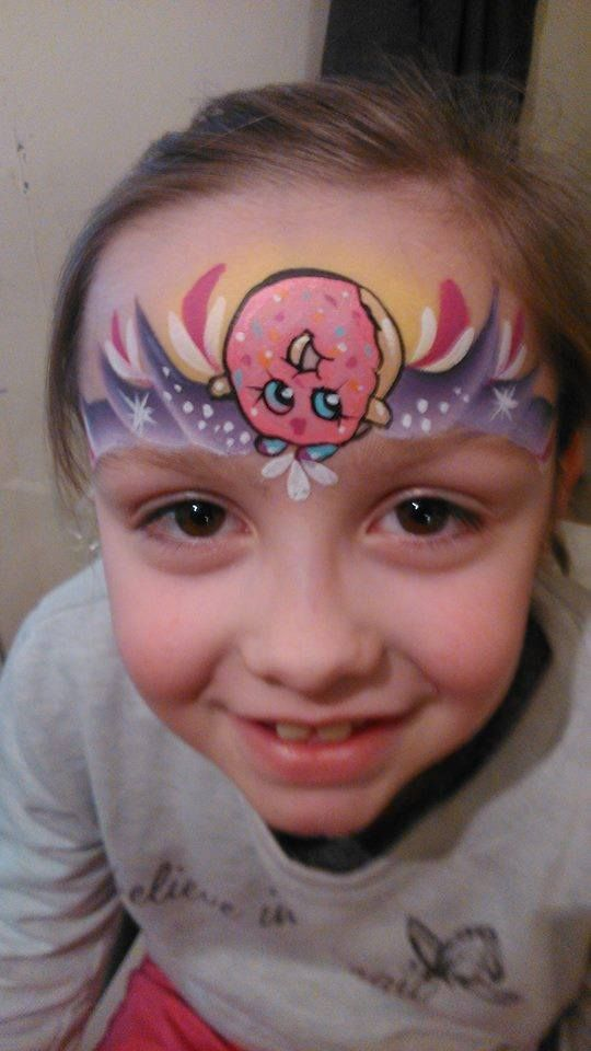 Youtube Shopkins Face Paint Tutorial