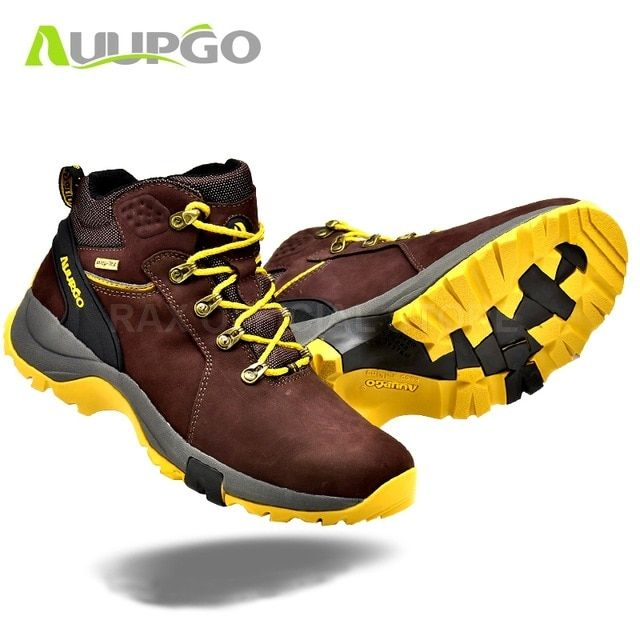 fefb84cec536f4 CA Waterproof Hiking Shoes For Men Breathable Winter Hiking Boots Men  Lightweight Climbing Sport Shoes Hiking Mountain Boots Man Review