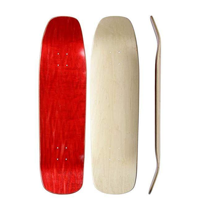 Skateboard Collective Shaped Blank Skateboard Deck Random Top Natural Bottom Self Customizable Skate Blank Skateboard Decks Blank Skateboards Skateboard Decks