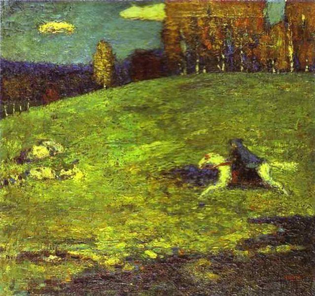 Der Blaue Reiter, 1903, Kandinsky.