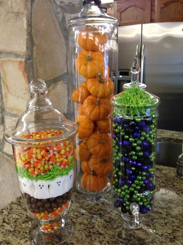 best 25 fall apothecary jars ideas on pinterest dollar tree fall dollar tree pumpkins and apothecary jars kitchen - Unusual Halloween Decorations