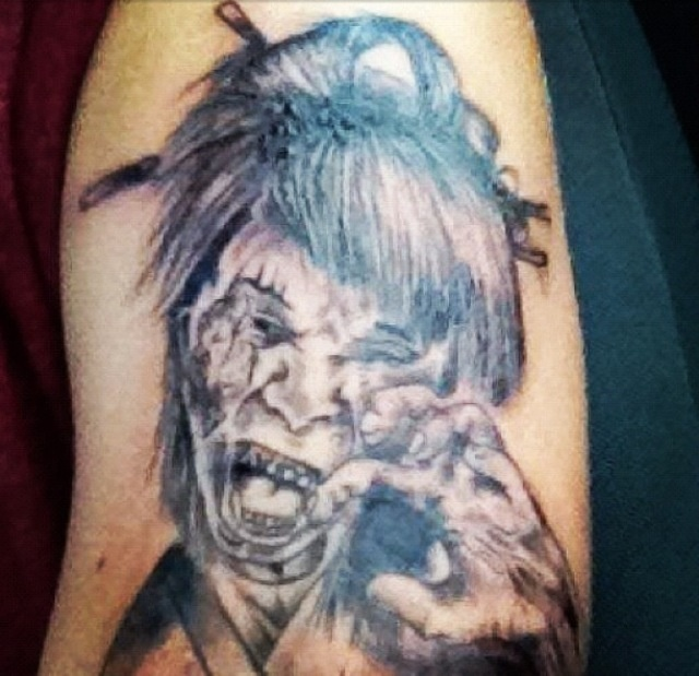17 Best Images About Zombie Tattoos On Pinterest