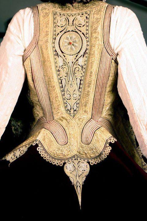 Embroidery of Serbian Dress (Kaftan) - Prizren, Kosovo and Metohija