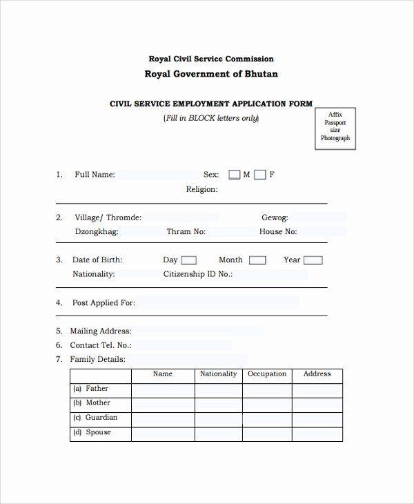 Job Application Form Sample In 2020 Job Application Form Job