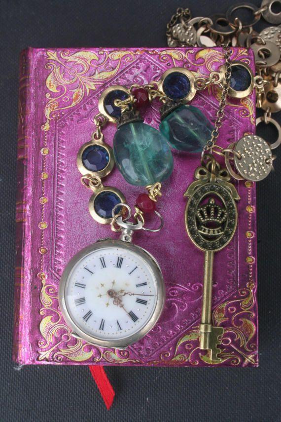 Pocket watch necklace Antique Pocket watch Old pocket watch
