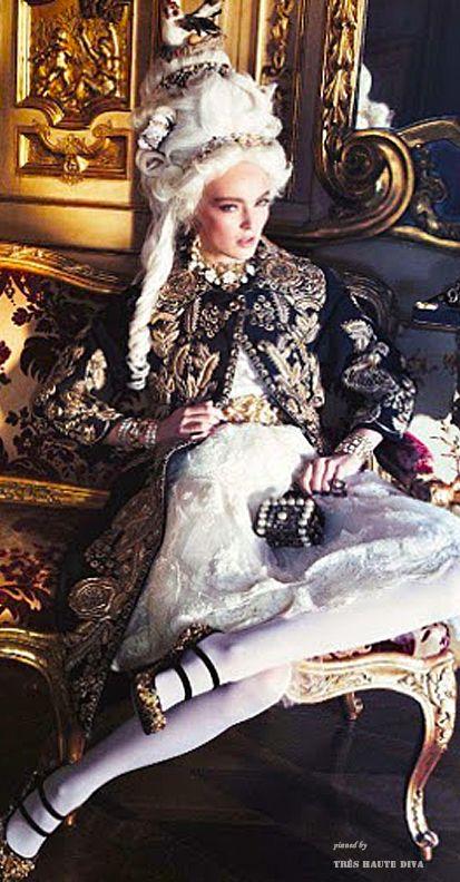 Modern baroque fashion