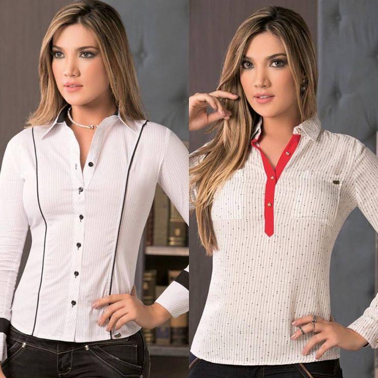 Blusas ideales para un día como hoy, combínalas con un pantalón de lino, dril o jeans, sus tonalidades básicas te dejan crear tu look sin problema. Realiza tu compra AHORA ingresando a www.jeanstyt.com/Tienda/es #YoVistoTyt #YoAmoTyt #TytJeans #Moda #blusasparadama