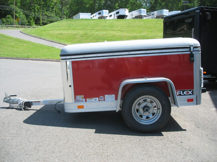 New 2013 Haulmark Flex 4 X 6 Utility Trailer For Sale In