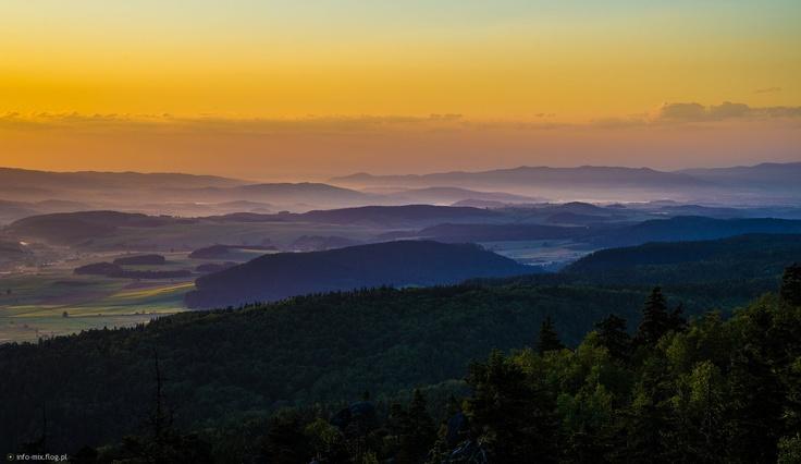 Góry Stołowe, Poland
