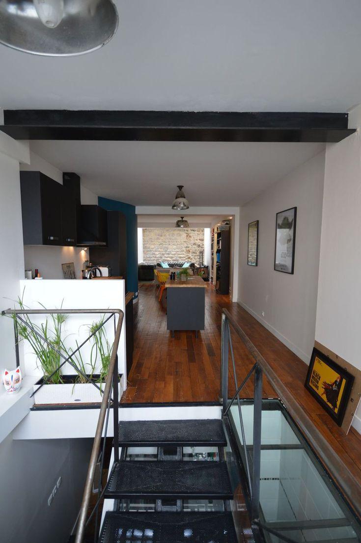 r novation loft avant apr s maison de r ve par c t maison pinterest lofts. Black Bedroom Furniture Sets. Home Design Ideas