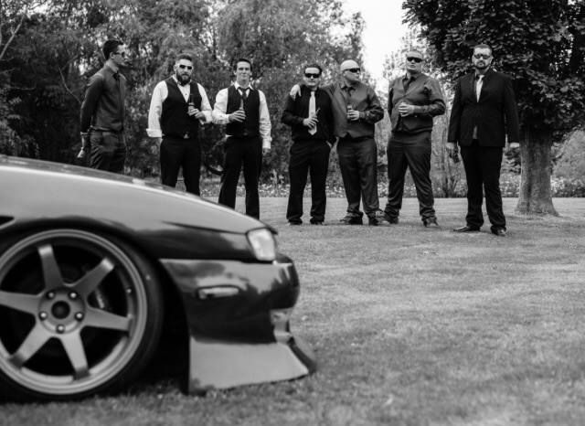 A bit of photography for a mates car themed wedding :)