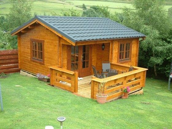 Log cabin Scotland