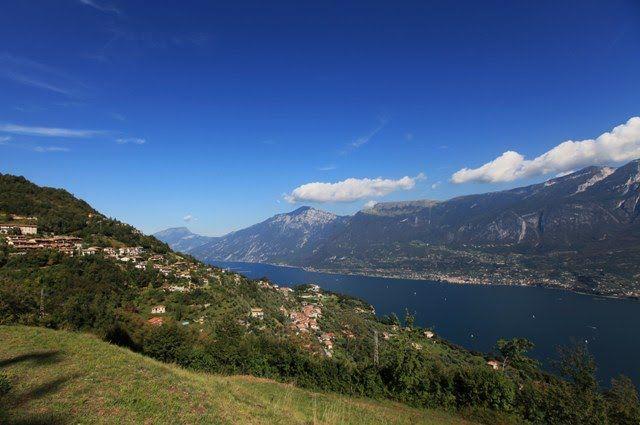 Tremosine, veduta lago di Garda nord,da Mezzema
