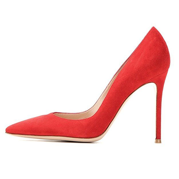 Soireelady Damen Pumps,Bequeme Lack Stilettos,Elegante High