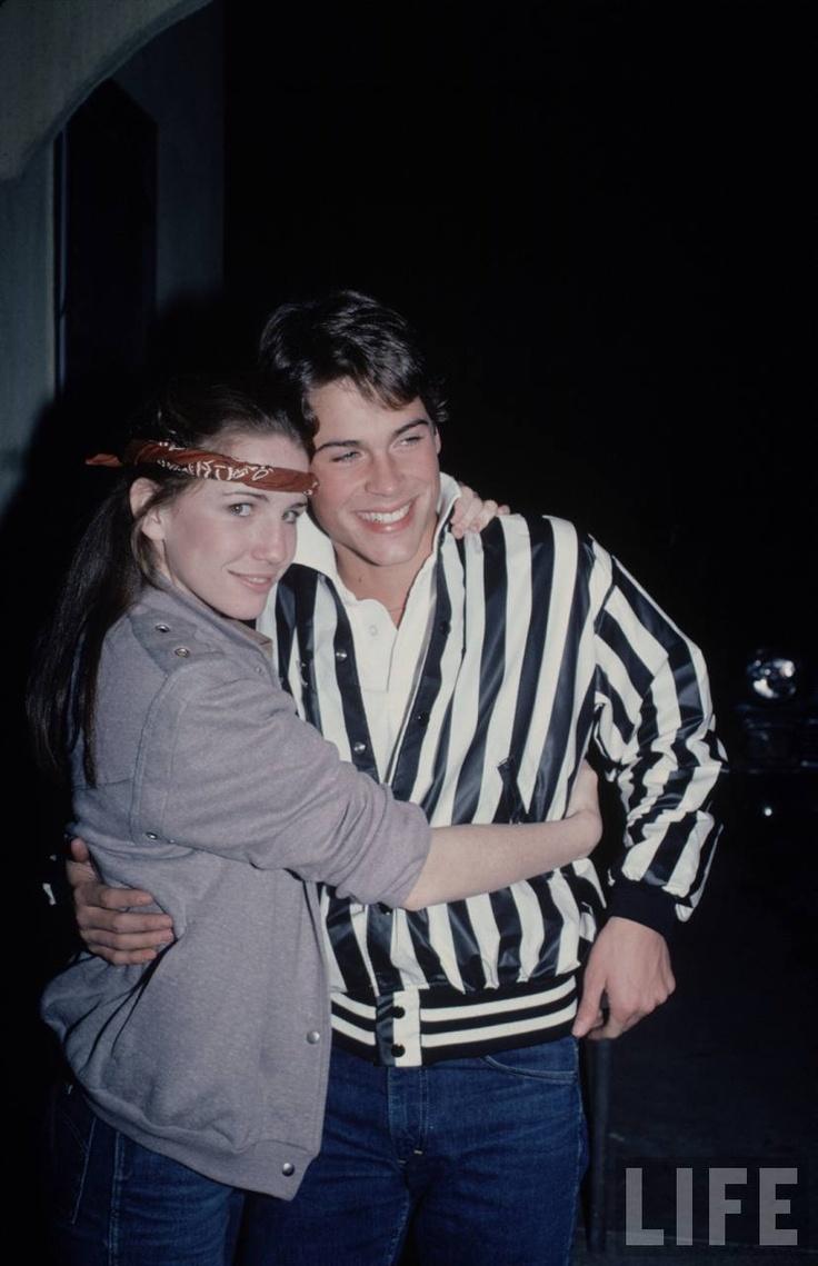 Melissa Gilbert and Rob Lowe. #Vintagecouple