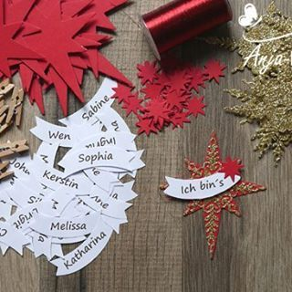 Weihnachtsworkshop 2016... #stampinup #demonstrator #papercraft #weihnachtsworkshop #namensschilder